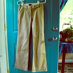 """Tan """"The Limited"""" Pants"""